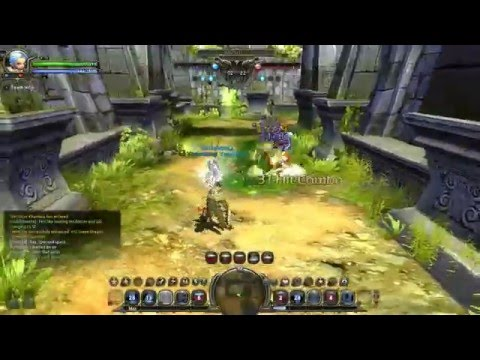 Dragon nest - Majesty vs Barbarian/Pyromancer (Probably 20k)