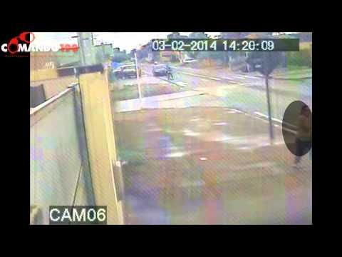 Câmeras de segurança gravam momento exato do homicidio ocorrido nesta segunda (03) em Ji Parana