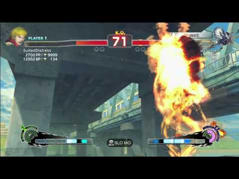SSFIV:AE2013 XBL Ranked Match Ken Vs Seth 17/05/2013
