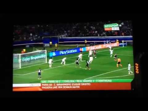 PSG - Chelsea 3 - 1 goal /champions league/ Pastore 02/04