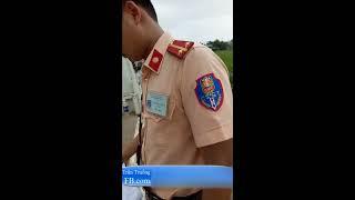 Trần Truồng: CSGT Quốc Oai Cân Tải bằng mắt thường, không có chuyên đề KTTT và giữ xe sai luật