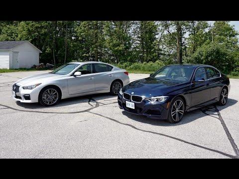 Faceoff: BMW 340i vs. Infiniti Q50
