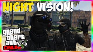 "GTA 5 Rare Heist Gear: ""Night Vision Goggles"" Online! How"