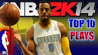 NBA 2K14 OFFICIAL TOP 10 PLAYS Of The WEEK Ft Andre