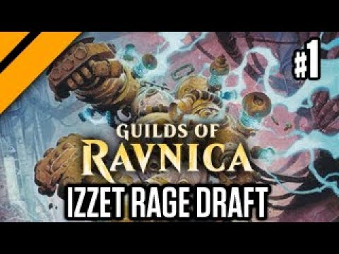 MTG: Arena - Izzet Rage Drafting - GRN Quick Draft (sponsored) P1