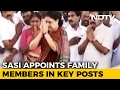 Sasikala Placed Nephew In Charge Of Party. It Can't Get En..