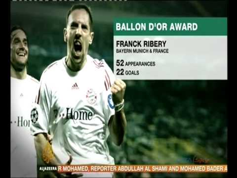 Ballon d'Or: Ronaldo favourite ahead of Messi and Ribery