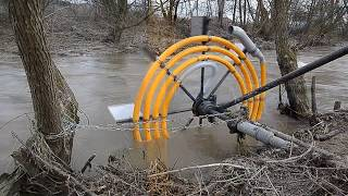 Building A Water Wheel Pump That Powers Itself