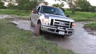 3/4 Ton Trucks In The Mud