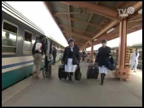 Lourdes: il treno bianco del pellegrinaggio Oftal
