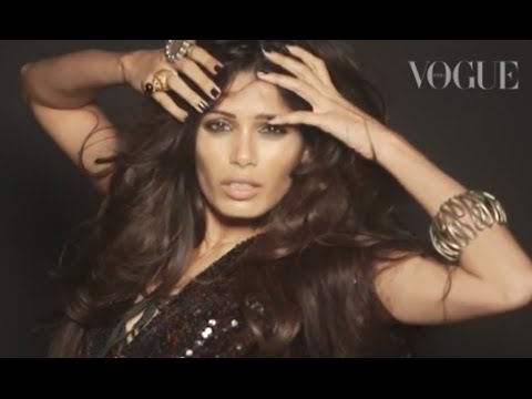 Freida Pinto is Vogue's sixth anniversary cover star
