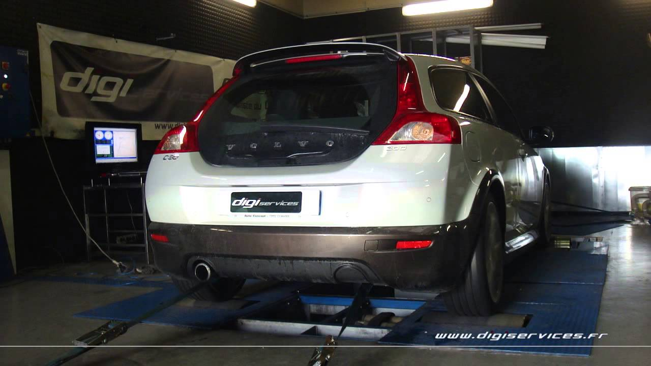 reprogrammation moteur volvo c30 d 136cv 171cv dyno digiservices paris youtube. Black Bedroom Furniture Sets. Home Design Ideas