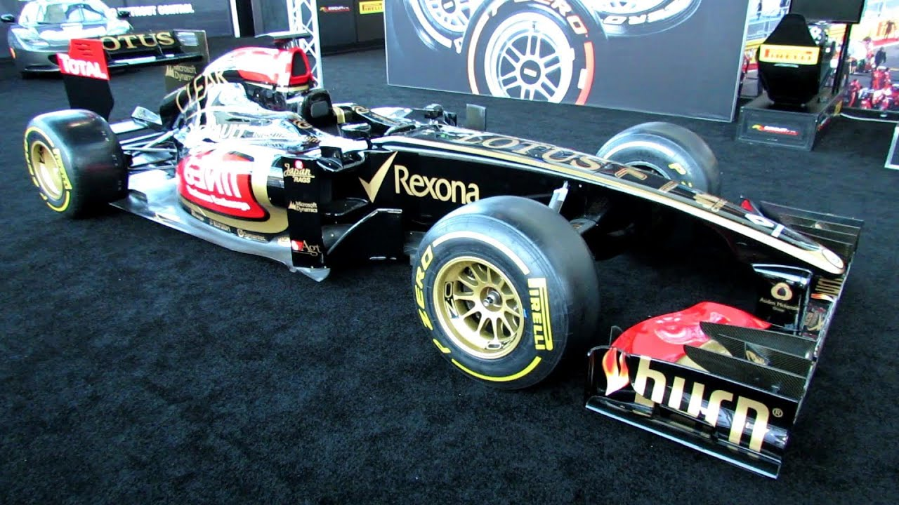 2012 lotus renault f1 racing car exterior and interior. Black Bedroom Furniture Sets. Home Design Ideas