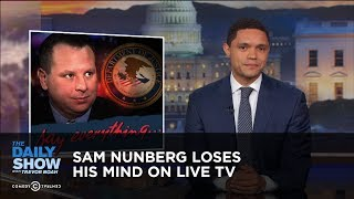 Sam Nunberg Loses His Mind on Live TV | The Daily Show