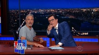 Jon Stewart Reprises The Daily Show For One Night Only