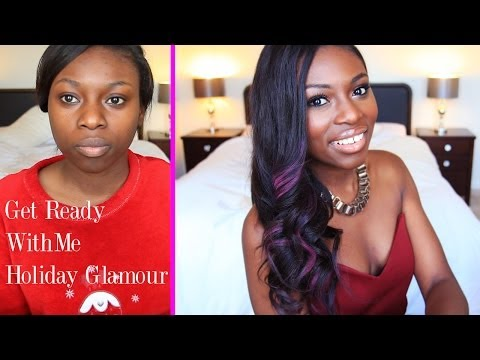 GET READY WITH ME  'BEYONCE PARTY' LOOK WITH PINK HAIR HIGHLIGHTS