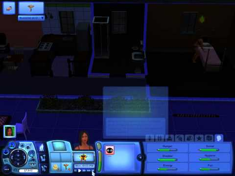 Ghetto Girl Sims 3 Commentary: 50 CENT ON SIMS RADIO!!
