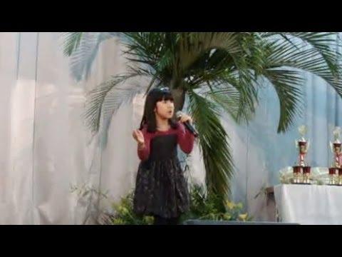 メリッサ・クニヨシ(8歳) ♪「涙そうそう」
