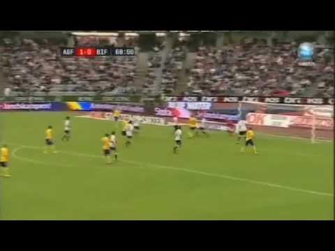 Jeremiah White Soccer in Denmark