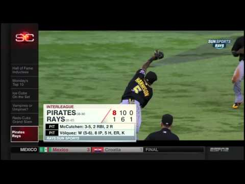 Josh Harrison Catch on Top Plays
