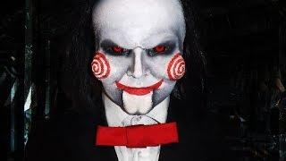 Billy Jigsaw Puppet Makeup Tutorial!