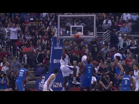 Blake Griffin's AMAZING Touch Pass Oop to DeAndre Jordan