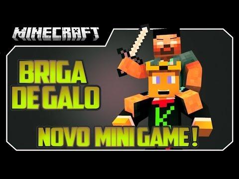 Minecraft - BRIGA DE GALO!!! - NOVO MINI JOGO!!