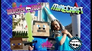 Monster High Frankie's Fright Nights Meets Minecraft
