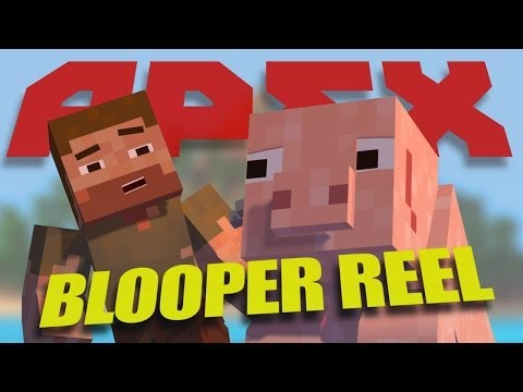 Minecraft Animation - Funny Apex Bloopers (Minecraft Blooper Animation