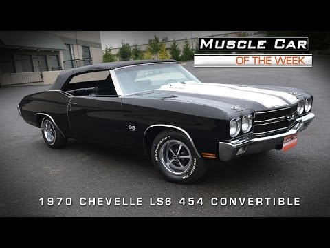 Muscle Car Of The Week Video #44: 1970 Chevrolet Chevelle SS LS6 454 C