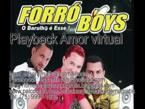 Playback Forró Boys Amor Virtual