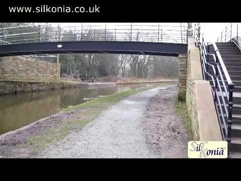 Macclesfield canal towpath more like mudbath