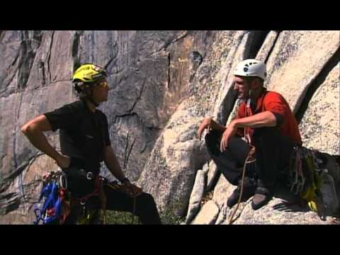 Yosemite big wall climb