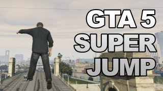 GTA 5: Super Jump Cheat Code