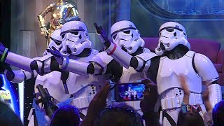 """Stormtroopers Sing """"Let It Go"""" From Frozen In Song Medley"""