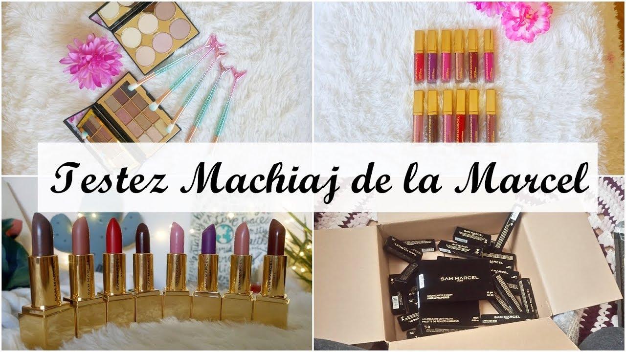 Testez Machiaj De La Marcel