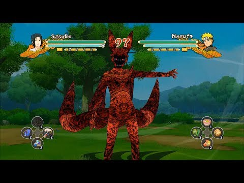 Naruto Ultimate Ninja Storm 3 Full Burst 4TK Naruto CS2 Sasuke Awakening Swap Gameplay (PC)