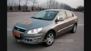 2009 Chery A3 (EuroNCAP 5 stars)   Chinese car 中国車