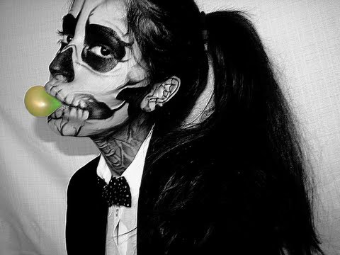 "$1 Lady Gaga ""Born This Way"" Music Video Skeleton Makeup, EFF"