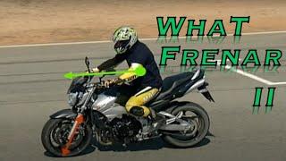 Como frenar en moto