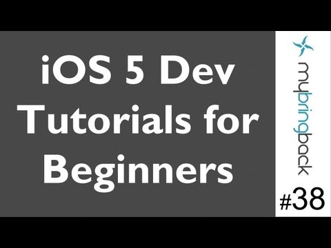 Learn Xcode 4.2 Tutorial iOS iPad iPhone 1.38 Basic MapView with MapKit