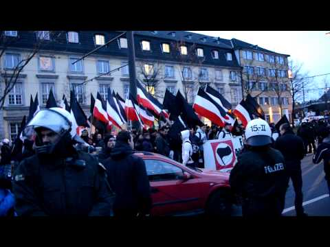 Naziaufmarsch in Dsseldorf am 16.03.2013