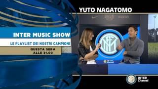 NAGATOMO A INTER MUSIC SHOW