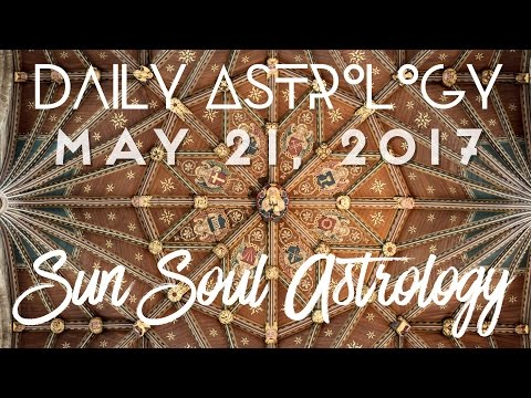 Daily Quantum Astrology May 21 2017 Released Into The Cosmos!!!
