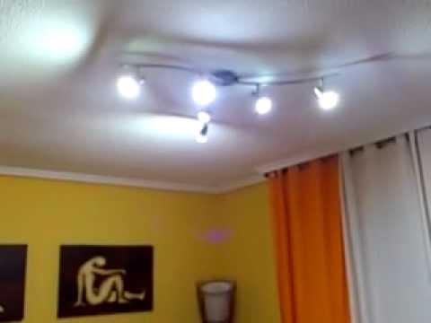 Iluminaci n led sal n 18 m2 youtube - Iluminacion led salon ...