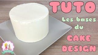 ♡• COMMENT CUIRE, GARNIR ET LISSER UN GÂTEAU CAKE DESIGN ? RECETTE MOLLY CAKE •♡