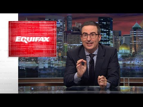 Equifax Last Week Tonight with John Oliver HBO