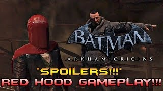 Batman Arkham Origins: *SPOILERS* Red Hood/Joker Gameplay