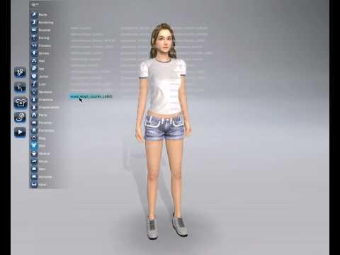 Создание персонажа и интерактивы