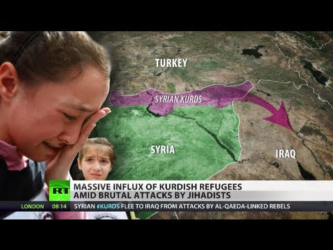 Minority Misery: 'Jihadists cleansing Kurds in Syria', thousands flee